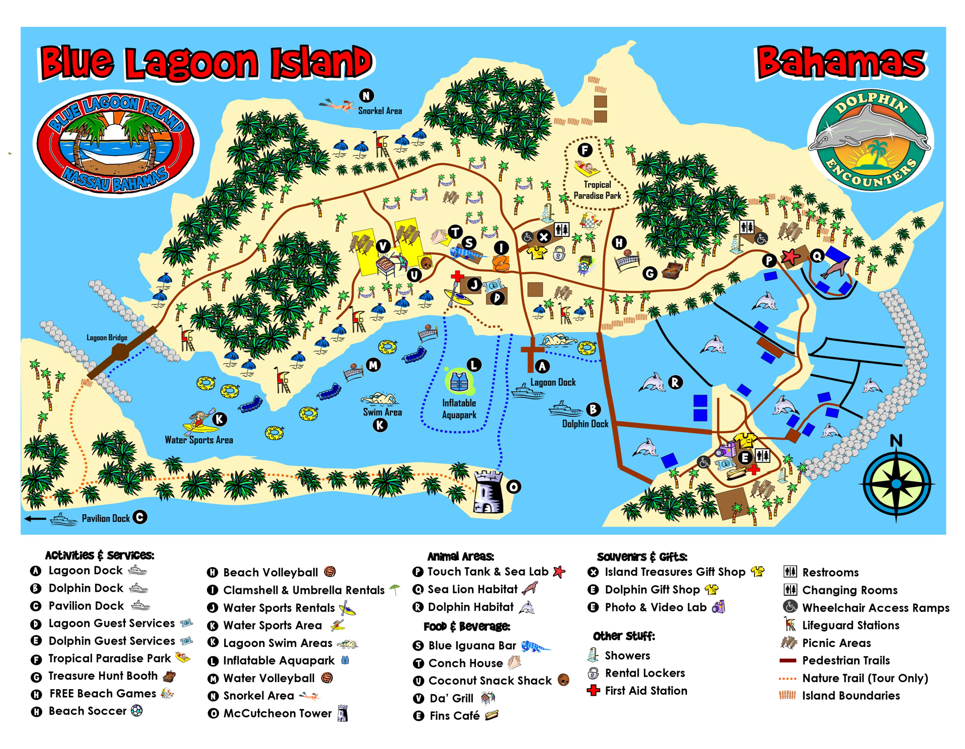 Picture of: Park Map Location Dolphin Encounters