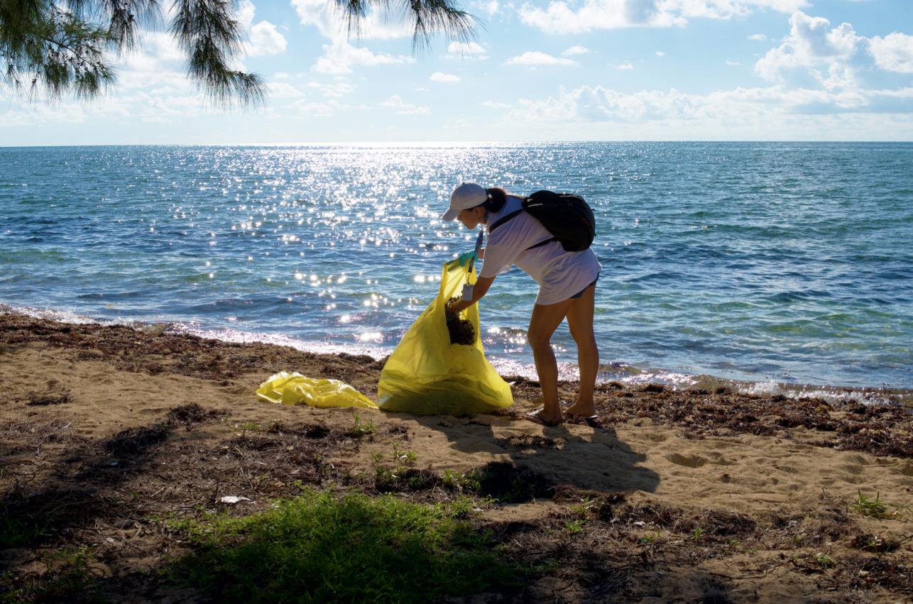 International Coastal Cleanup Bahamas